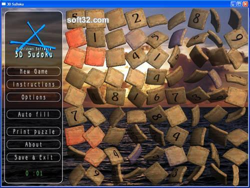 3D SuDoku Screenshot 2