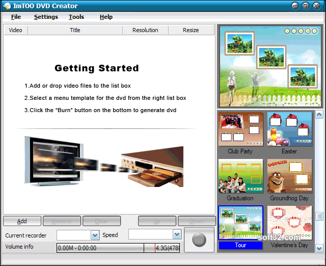 ImTOO DVD Creator Screenshot 3