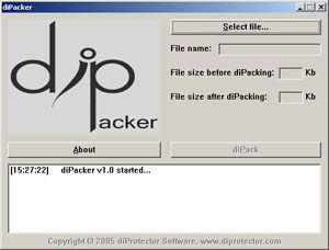 diPacker Screenshot