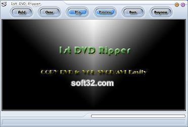 1st DVD Ripper Screenshot 3