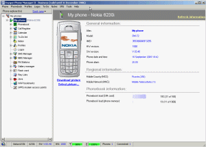 Oxygen Phone Manager II Screenshot
