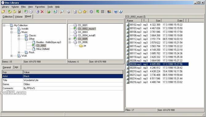 Disclib Screenshot 3