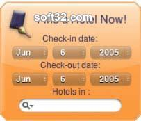 HotelSearch Yahoo! Widget Screenshot 3