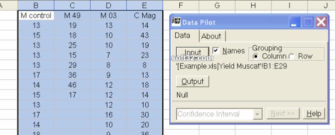 Data Pilot Screenshot 2