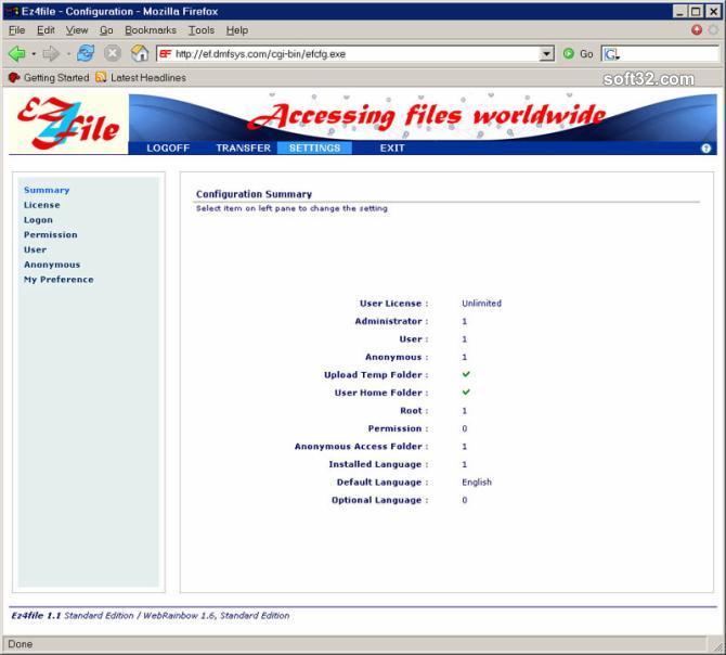 Ez4file (Personal Edition) Screenshot 4