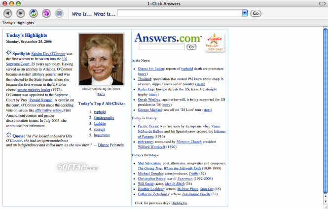 1-Click Answers for Mac OS X Screenshot 5