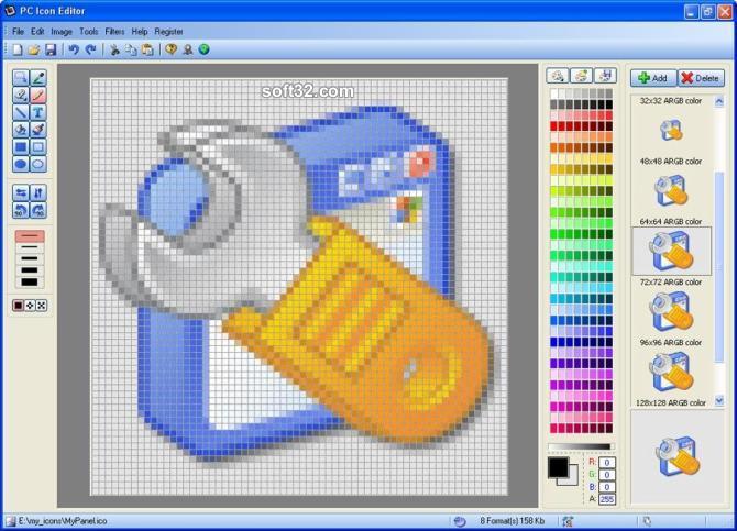 PC Icon Editor Screenshot 2