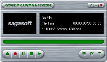 !1 Power MP3 WMA Recorder Screenshot