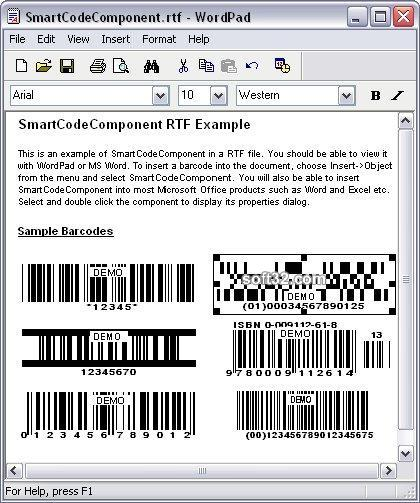 SmartCodeComponent Screenshot 3