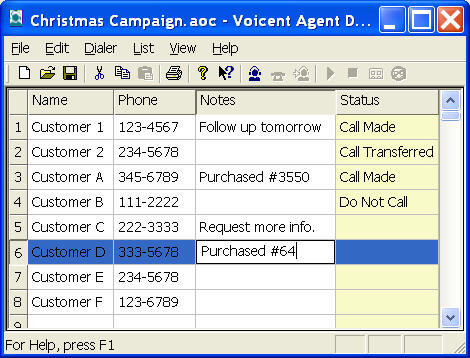 Voicent Predictive Dialer Screenshot