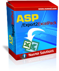ASP/Export2ExcelPack Screenshot