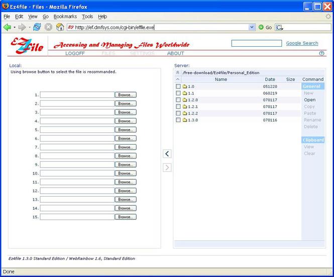 Ez4file (Standard Edition) Screenshot 1