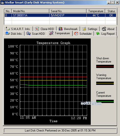Stellar Smart - Monitor Hard Drive Performance Screenshot 1