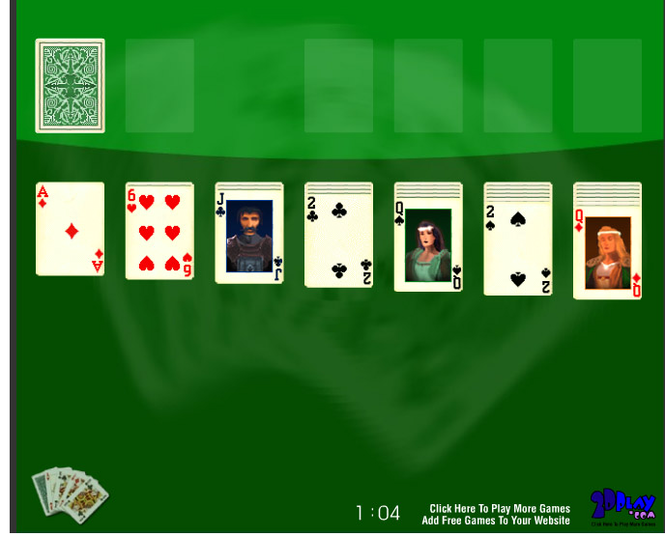 Solitaire Online Screenshot