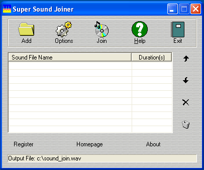 Super Sound Joiner Screenshot