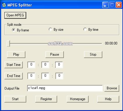Mpeg Splitter Screenshot 5