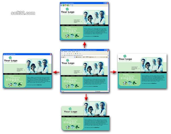 Discstarter CD-ROM Autorun Menu System Screenshot 2