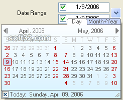 XE-Date Control Screenshot