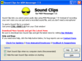 Sound Clips for MSN Messenger 1