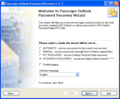 Passcape Outlook Password Recovery 2
