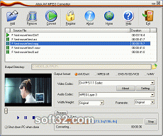 Allok AVI MPEG Converter Screenshot 3