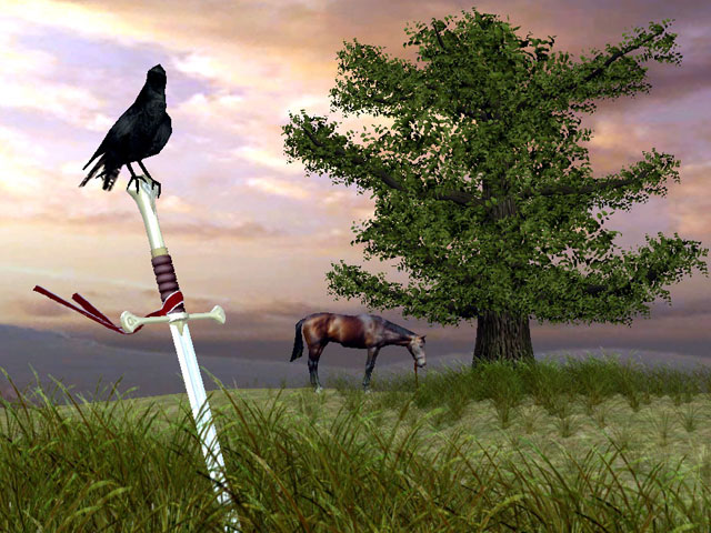 Sword of Valor 3D Screensaver Screenshot 1