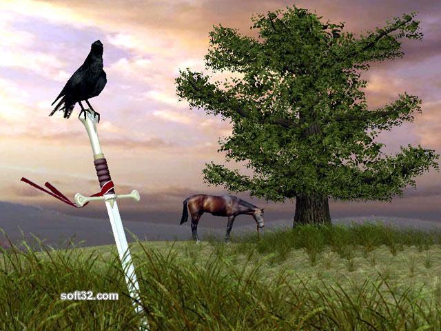 Sword of Valor 3D Screensaver Screenshot 3