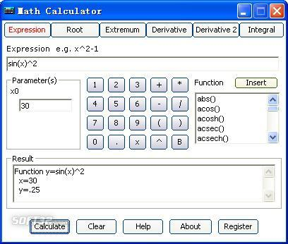 Math Calculator Screenshot 3