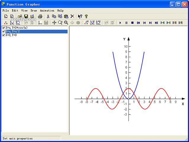 Function Grapher 2D Edition Screenshot 1