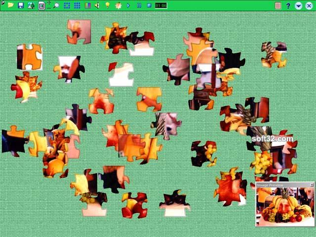 League Jigsaw Puzzle Screenshot