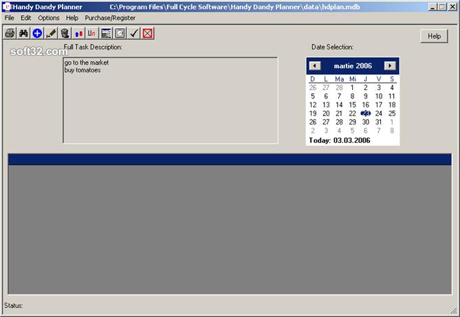 Handy Dandy Planner Screenshot 2