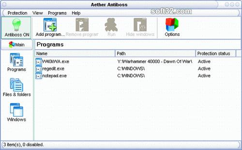 Aether Antiboss Screenshot
