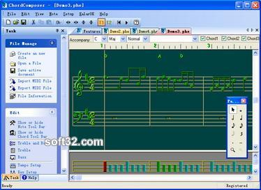 ChordComposer Screenshot 1
