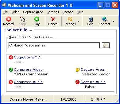 Webcam and Screen Recorder 7 Screenshot 2