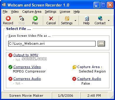 Webcam and Screen Recorder 7 Screenshot 5