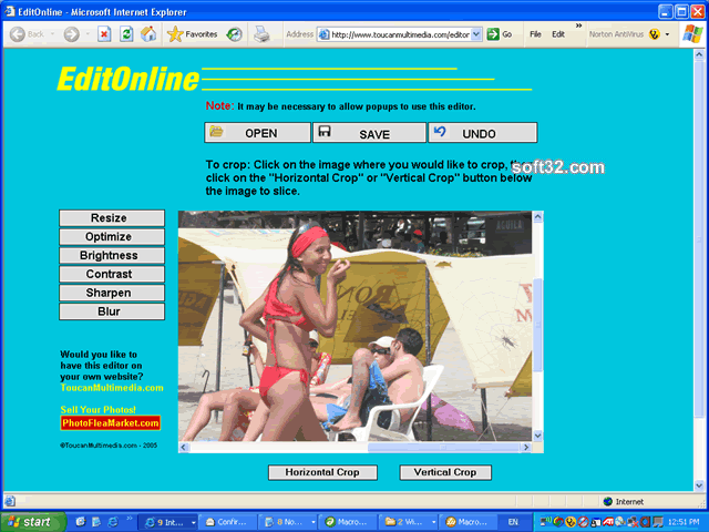 EditOnline Screenshot