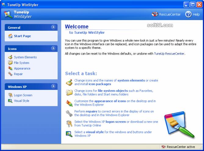 TuneUp WinStyler Screenshot 3