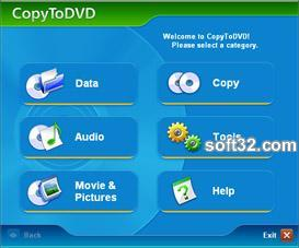 CopyToDVD Screenshot 3