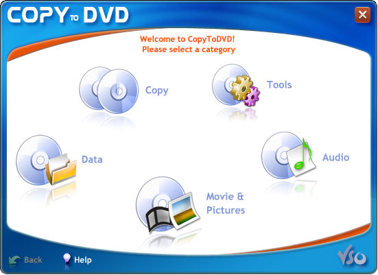 CopyToDVD Screenshot 1