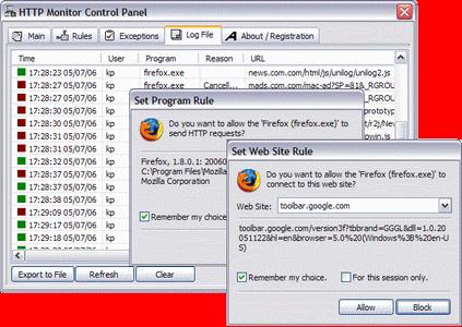 HTTP Monitor Screenshot 1
