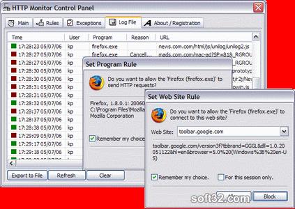 HTTP Monitor Screenshot 3
