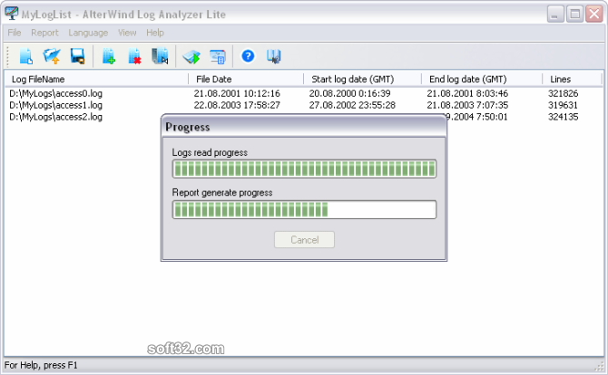 AlterWind Log Analyzer Lite Screenshot 3