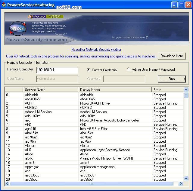 RemoteServiceMonitoring Screenshot 3