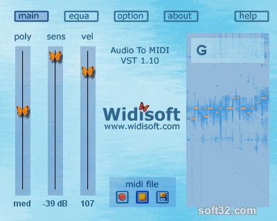 Audio To MIDI VST (PC) Screenshot 2