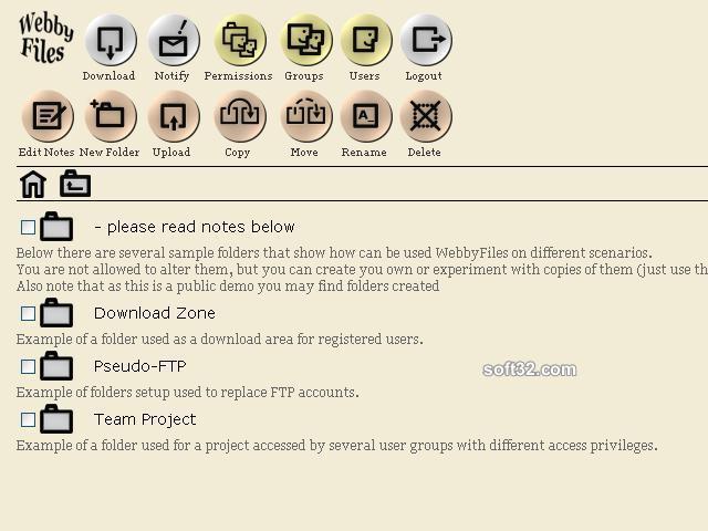WebbyFiles (Java) Screenshot 3