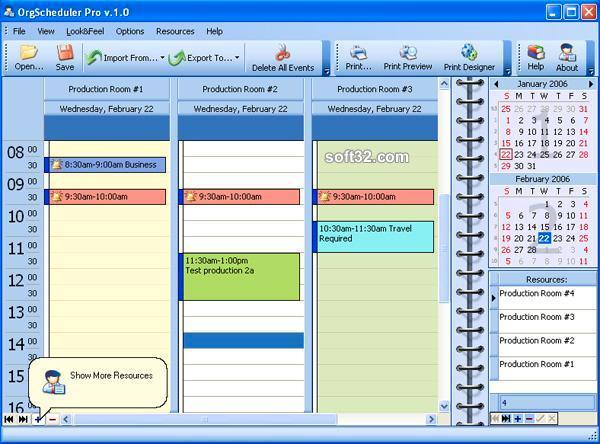 OrgScheduler Pro Screenshot 2