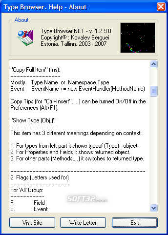 Type Browser.NET Screenshot 3