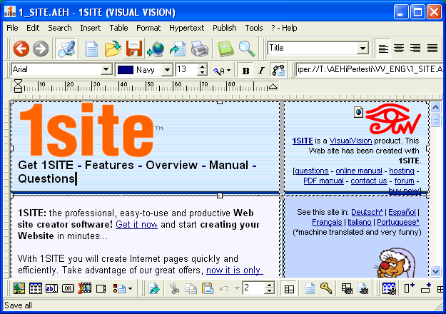 1site (LITE) Screenshot 3