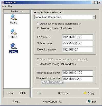 IP Shifter Screenshot 2
