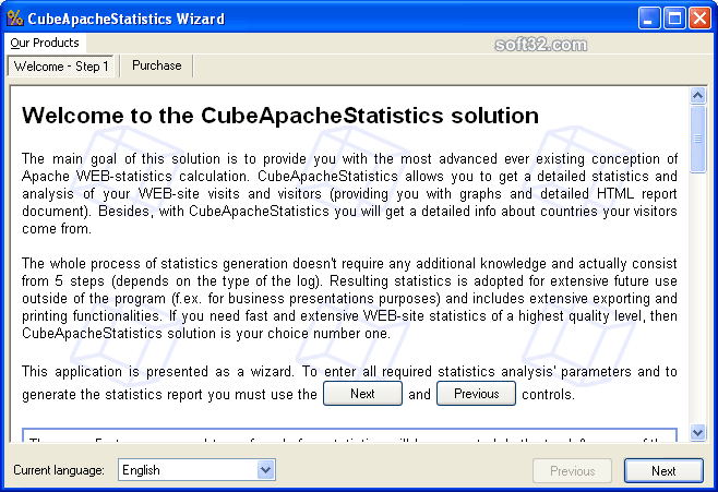 CubeApacheStatistics Screenshot